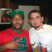 Me and Gorilla Zoe in the Studio